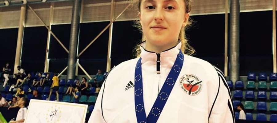Natalia Nikliborc (Start Olsztyn) zdobyła brązowy medal w kategorii do 55 kg