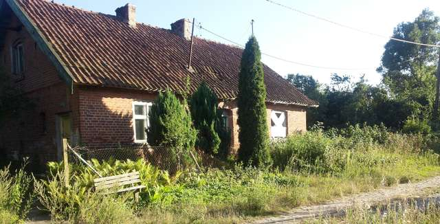 Linowo, stary warmiński dom