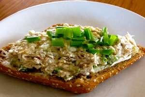 Pasta z makreli i serka wiejskiego
