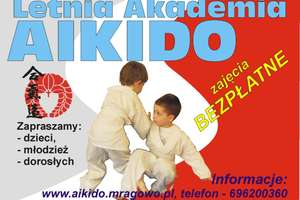 Mrągowo. Letnia Akademia Aikido