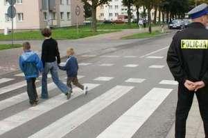 Bezpieczna droga do szkoły - policja prowadzi kampanię