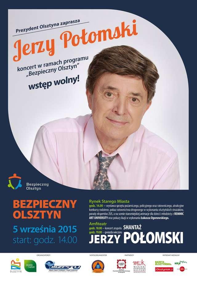 Jerzy Połomski gwiazdą kolejnej odsłony programu Bezpieczny Olsztyn - full image
