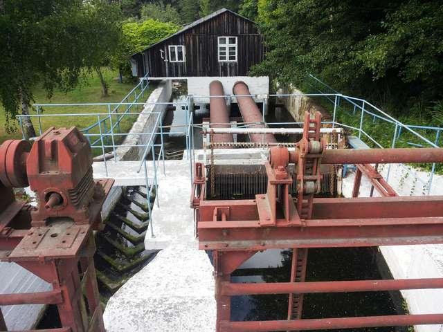 Elektrownia wodna w Rusi