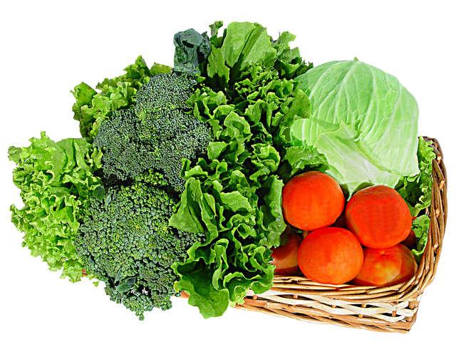 Tętnicze nadciśnienie płucne jest groźną chorobą, wśród zaleceń jest diametralna zmiana diety, w której dominujązdrowe produkty - warzywa i owoce - full image