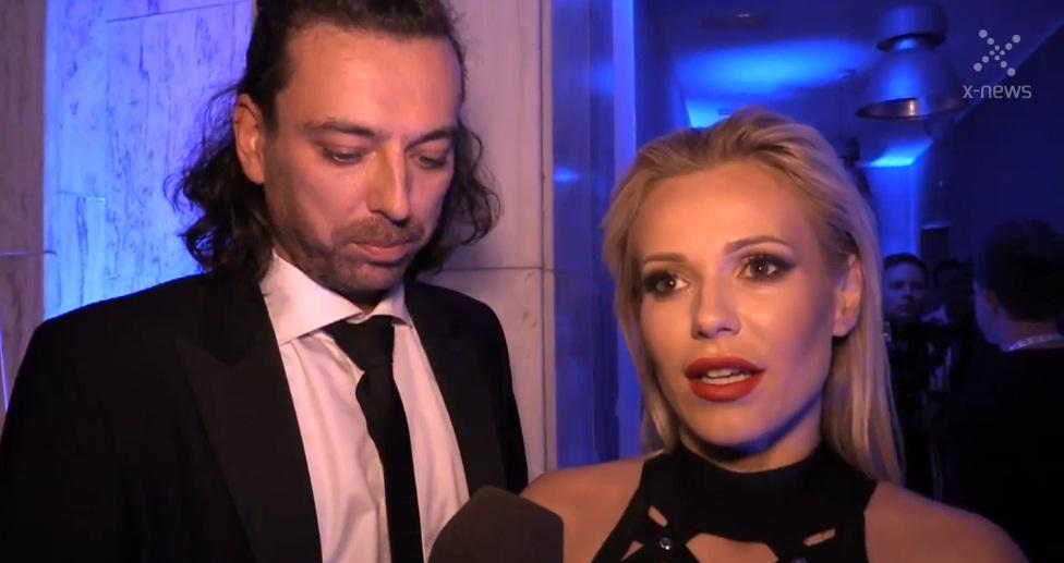 Doda i Emil Haidar na urodzinach 4FUN TV