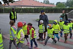 Przedszkolaki zapoznały się z zasadami bezpieczeństwa