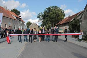 Uroczyste otwarcie wyremontowanej drogi Łędławki-Bajdyty