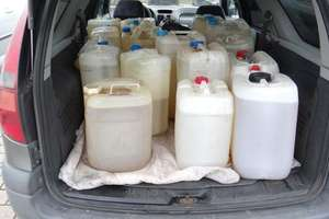 Bomba na czterech kołach. 400 litrów benzyny w samochodzie