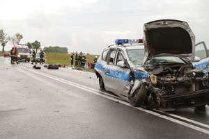 Policjant wjechał w motocyklistów pod Gietrzwałdem. Ruszył proces