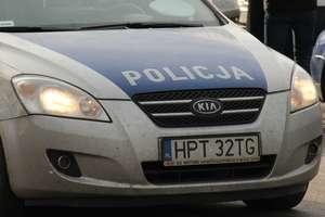 Skradziony passat stał na parkingu w Węgorzewie