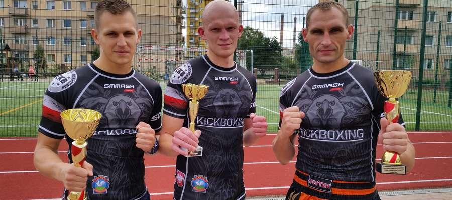 Od lewej: Piotr Kołakowski, Damian Chiliński, Wojciech Wiśniewski