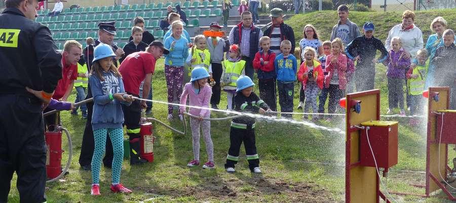 Strażackie atrakcje dla dzieci