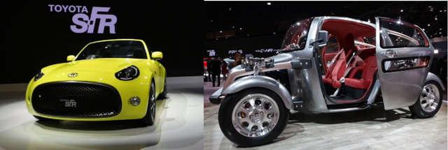Nowe modele koncepcyjne Toyoty wzbudziły duże zainteresowanie na targach w Tokio - full image