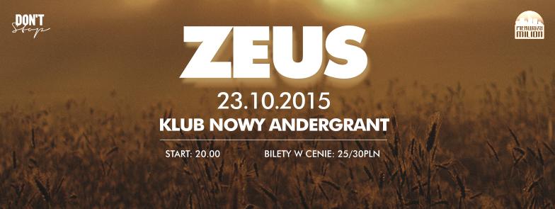 Premierowy koncert Zeusa w Nowym Andergrancie