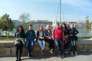 Młodzież z Pieniężna na Węgrzech