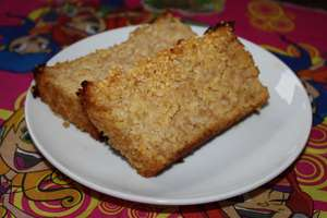 Najszybsze ciasto z jabłkami i kaszą jaglaną