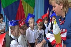 Echa Dnia Nauczyciela i ślubowania w szkole w Tereszewie