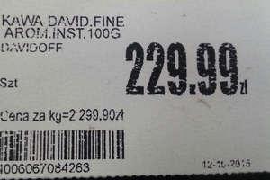 Po kradzieży cena kawy wzrosła o 666 procent