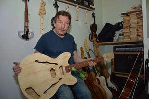 Lutnik z Olecka: Sprzedałem więcej gitar solowych w USA niż w Polsce
