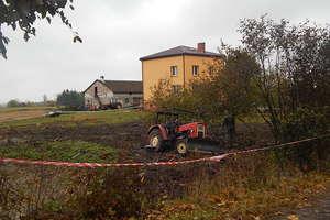 Eksplozja niewybuchu na polu. Zginął traktorzysta