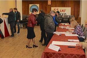 Pierwsze wyniki wyborów w Giżycku