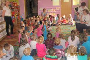 W przedszkolu też uczą zasad udzielania pierwszej pomocy