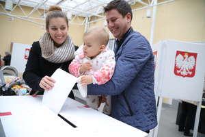 Frekwencja do godz. 17 w Olsztynie wyniosła 43,43 proc. Zobacz, jak głosowali olsztynianie [ZDJĘCIA]