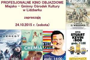 Zapraszamy do kina objazdowego w Lidzbarku