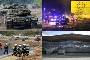 Wypadki, ćwiczenia wojskowe i uroczysta gala... Sprawdź najważniejsze wydarzenia minionego tygodnia!