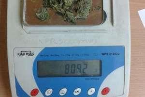 Marihuanę ukrył w skarpetkach