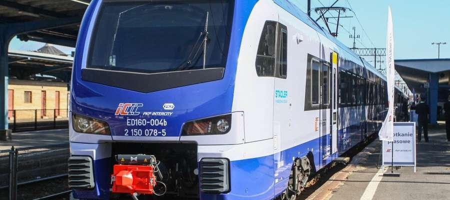 Nowy pociąg Flirt3 pokazany w Olsztynie na początku października