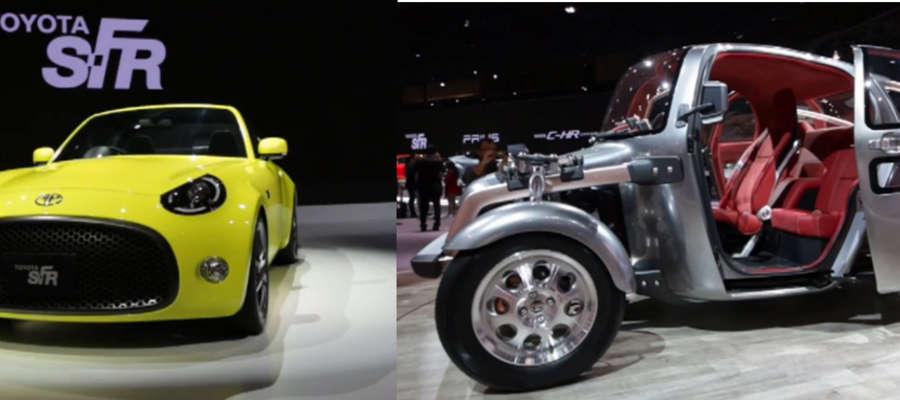 Nowe modele koncepcyjne Toyoty wzbudziły duże zainteresowanie na targach w Tokio