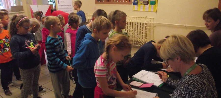 Wybory Samorządu Uczniowskiego w szkole w Żydowie