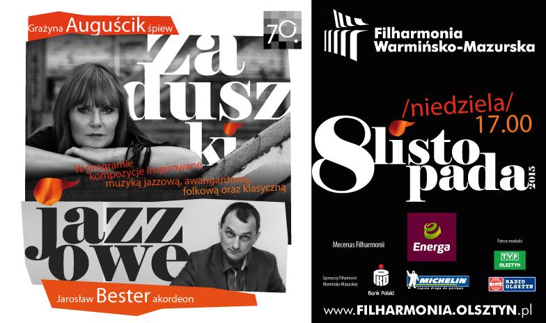Zaduszki Jazzowe w olsztyńskiej filharmonii