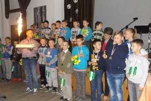 Zakończenie rozgrywek Gminnej Ligi Sołeckiej w Dźwierzutach