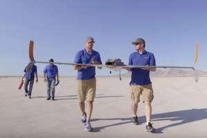Zaprojektowali i wydrukowali drona napędzanego silnikiem odrzutowym. Zobacz film