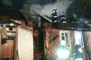Pożar w Bukowie. 5 rodzin bez dachu nad głową