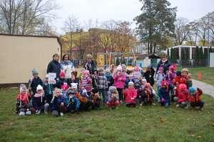 Wspólnie z innymi przedszkolakami pokonaliśmy dystans maratonu