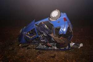 Pijany kierowca spowodował groźny wypadek