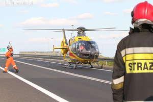 Pięć osób rannych w wypadku na krajowej