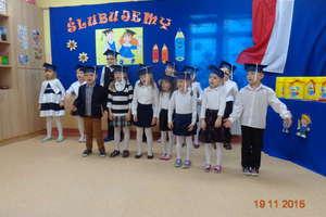 Ślubowanie w Szkole Filialnej w Snopkach