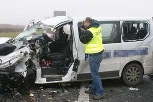 Wypadek na S7. Jedna osoba ranna