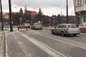 GO TV: Pierwsze problemy kierowców pod Wysoką Bramą w Olsztynie