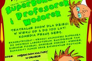 Profesorek Wodorek atakuje Ornetę!