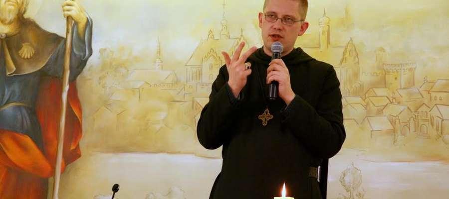 Konferencje w Centrum św. Jakuba prowadził o. Szymon Hiżycki