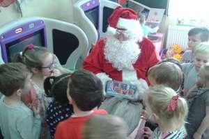 Niektóre przedszkolaki bały się św. Mikołaja