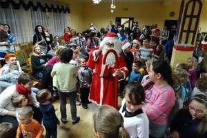 Wizyta świętego Mikołaja w Kurzętniku