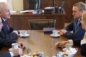 Ambasador Ukrainy odwiedził ukraińskich żołnierzy i marszałka