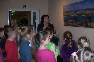 Uczniowie z Sątop odwiedzili ośrodek kultury