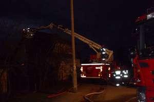 Niespokojny świąteczny tydzień mrągowskich strażaków